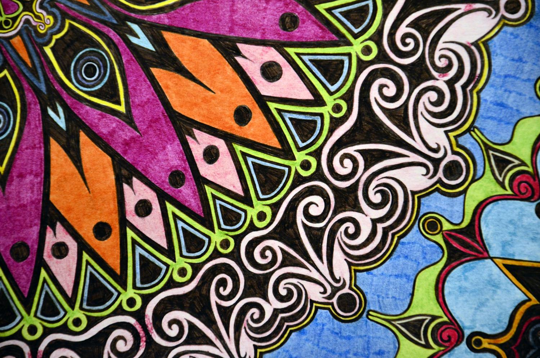 Flowers #1 drawing, by Tara Marolf