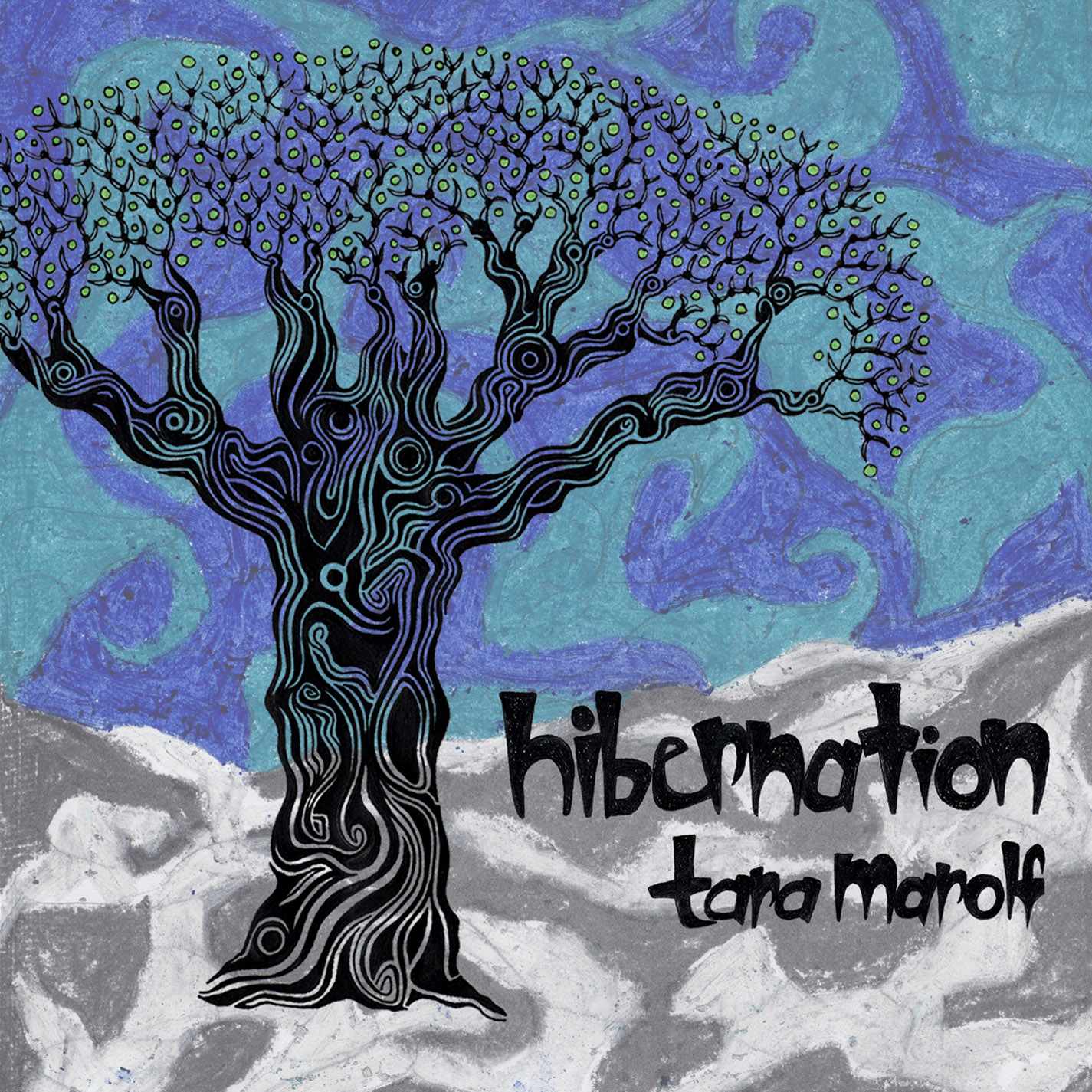 Tara Marolf - Hibernation (Music Album Art), by Tara Marolf