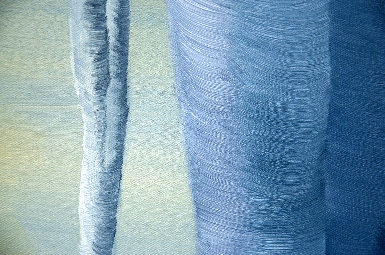Icicles oil painting, by Tara Marolf