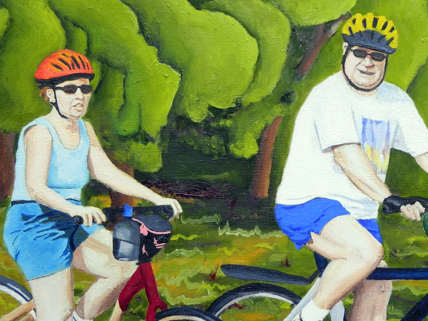 Joe & Marlene oil painting, by Billy Reiter
