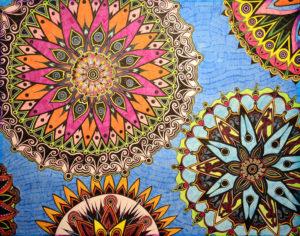 Flower Drawings, by Tara Marolf