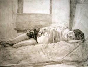 Figure Drawings, by Tara Marolf