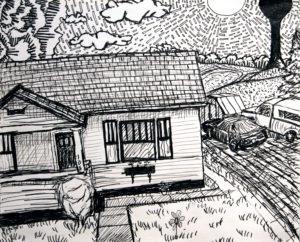 Sketchbook Drawings, by Billy Reiter