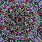Flowers #8 drawing, by Tara Marolf