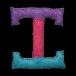 Felt Letters for kids, felt crafts, by Tara Marolf