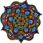 Flowers #4 drawing, by Tara Marolf